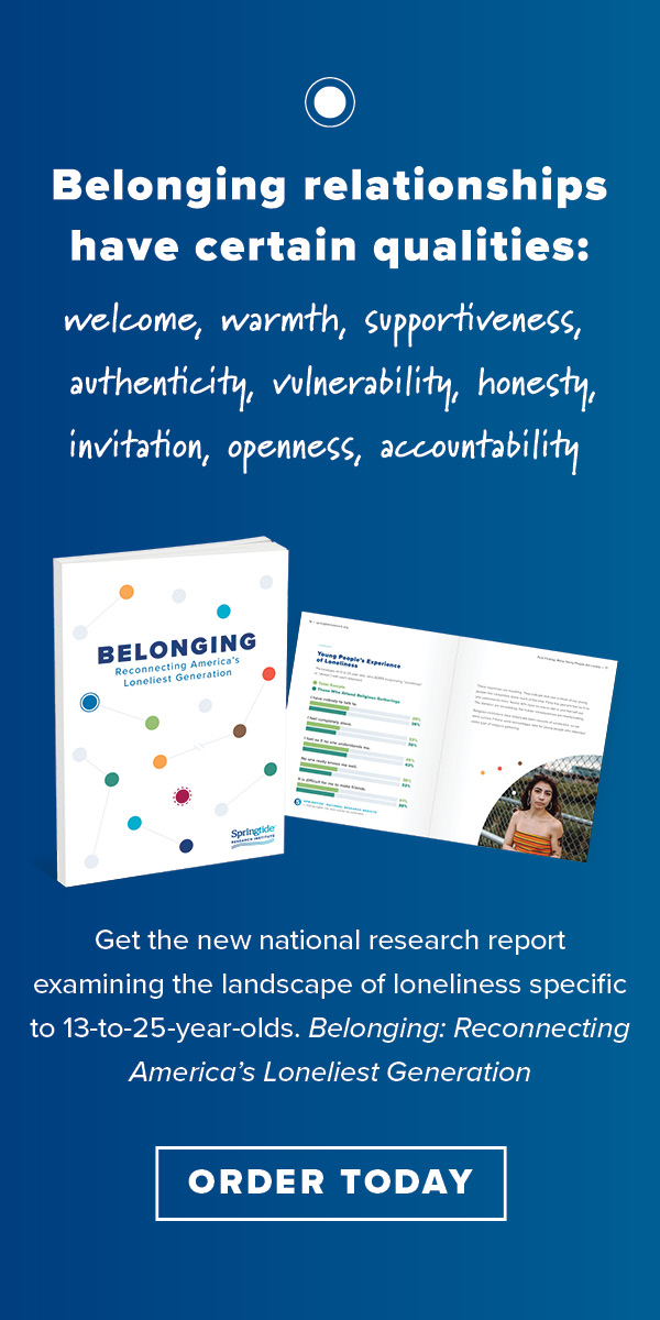 Belonging relations report