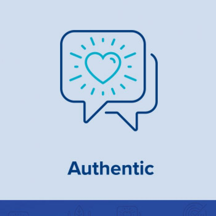 Authentic: Being Real, Even Online