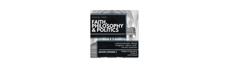 In the news: Religion, Institutions & Gen Z: A Conversation with Josh Packard